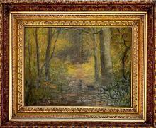 Orrin Sheldon Parsons (American 1866 - 1943) oil on canvas Signed
