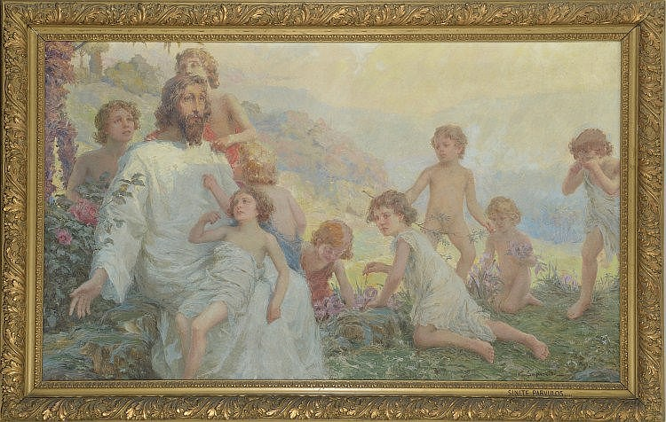 Edgardo Saporetti  (Bagnacavallo1865-Bellaria1909)
