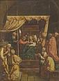 Italian school of XVII century La morte ofla Vergine