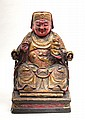 A seated figure China, Qing Dynasty, 19th century