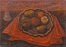 Pippo Oriani (Turin 1909 - Turin 1972) Natura morta (Still Life), 1942, oil on canvas