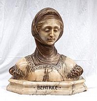 "Giovanni Broggi (Varese 1853 -1919)""Beatrice"" Italy, late 19th century"