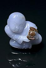 An agate carving China, Republic period