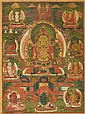 Thangka portraying Bodhisattva