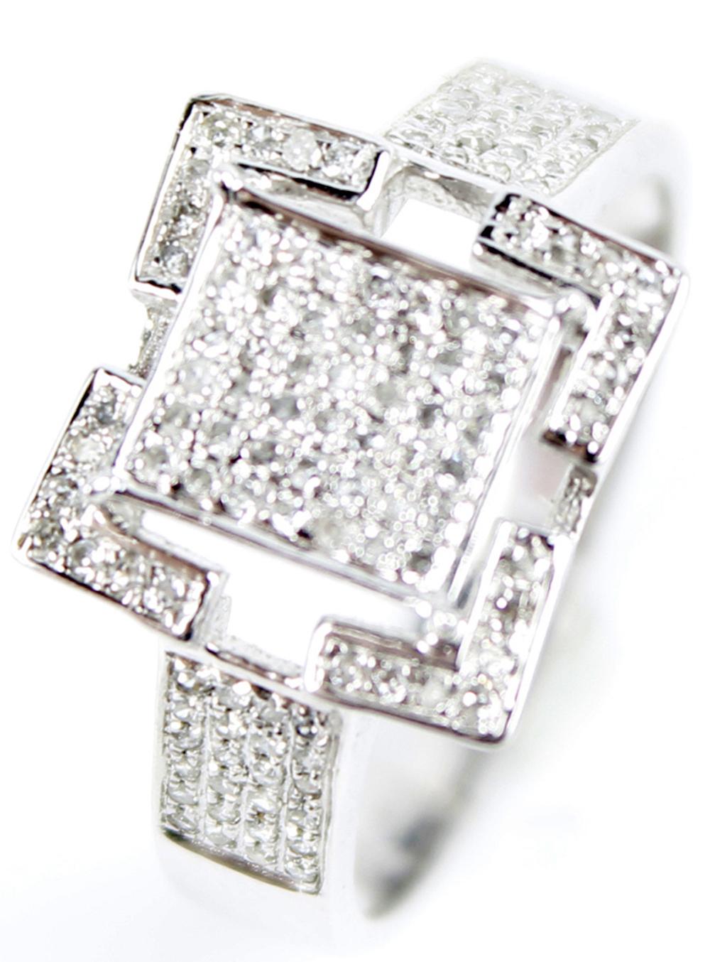 10k white gold ladies diamond ring. Black Bedroom Furniture Sets. Home Design Ideas