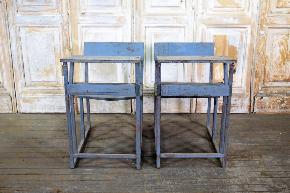 Iron Schooldesks