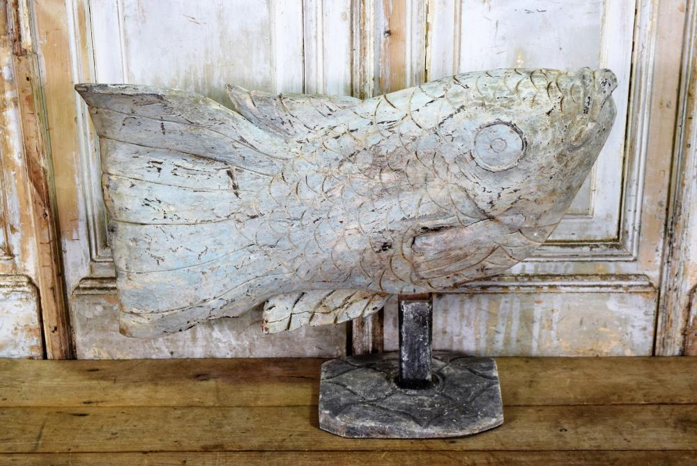 Fish Figure on Stand