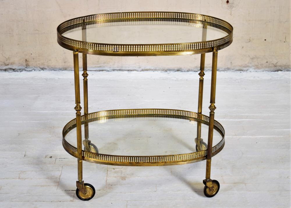 Vintage European Bar Cart