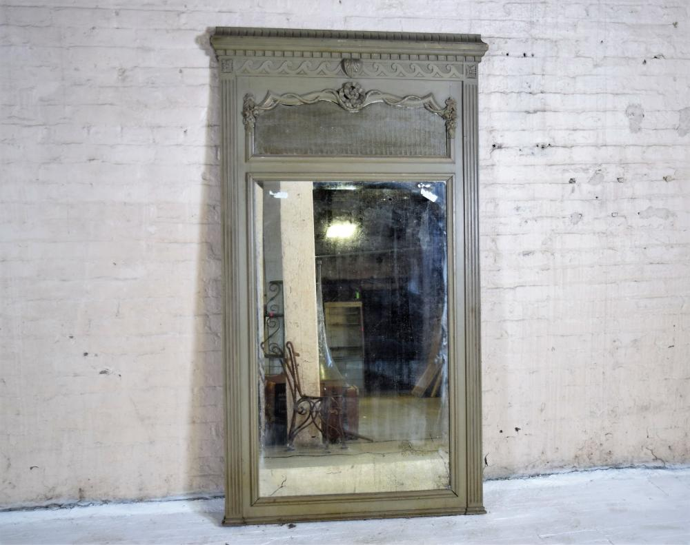 Antique French Trimeuax Mirror