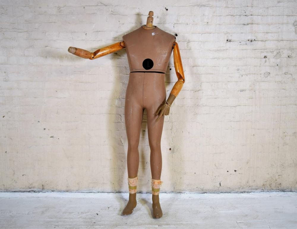French Wooden Mannequin