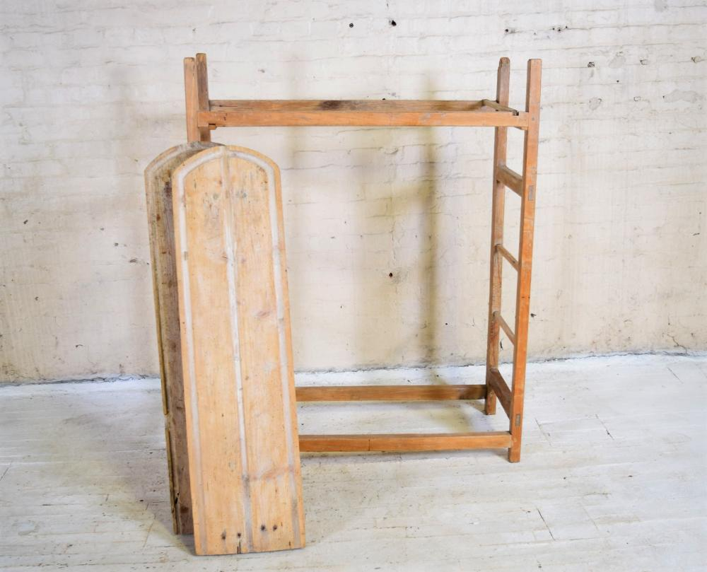 1800's French Cheese Rack from Fromagerie
