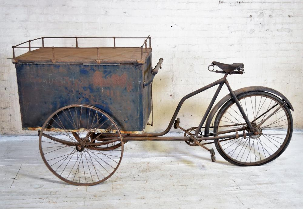 Vintage French Street Vendors Bike