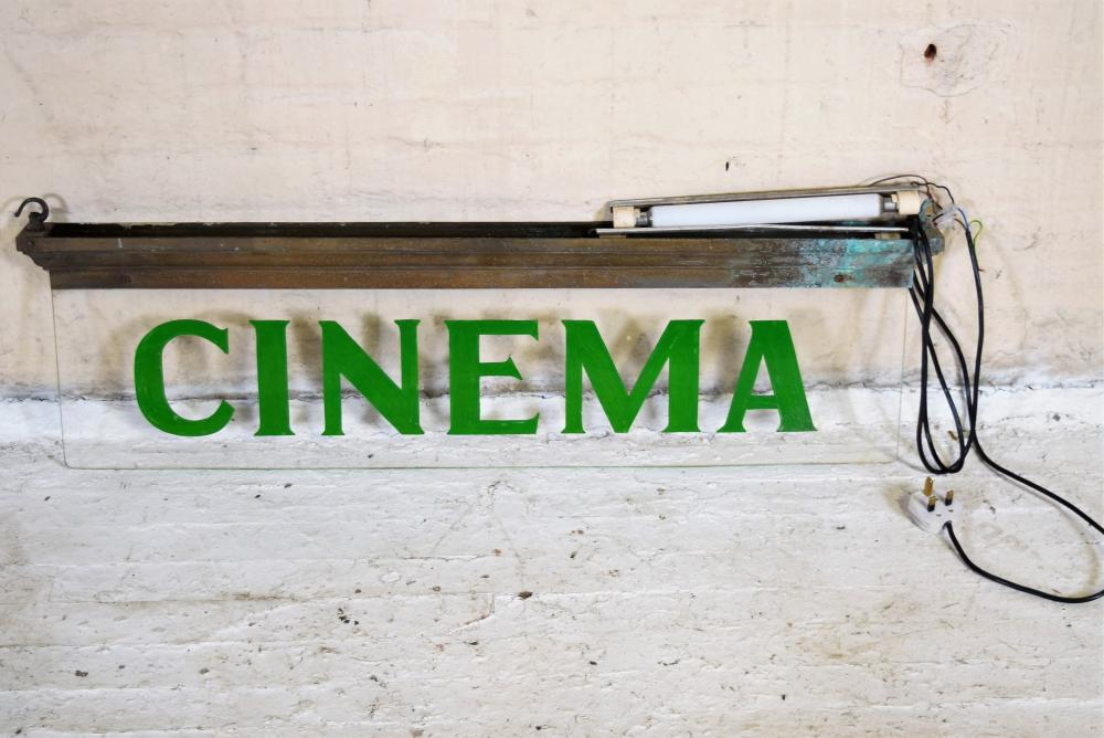 Vintage Irish Cinema Sign