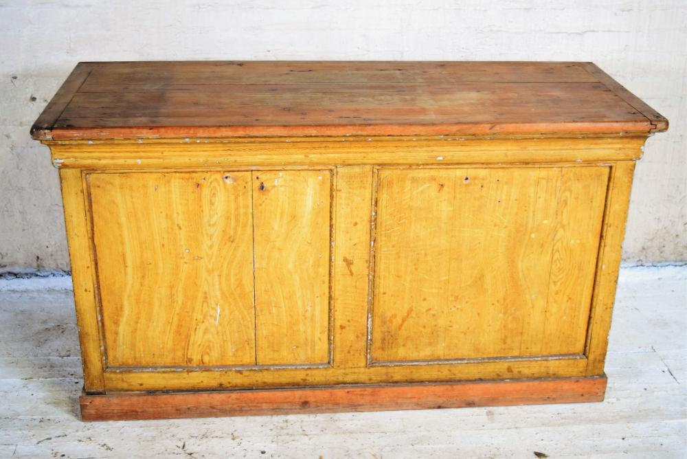 French Wood Shop Counter