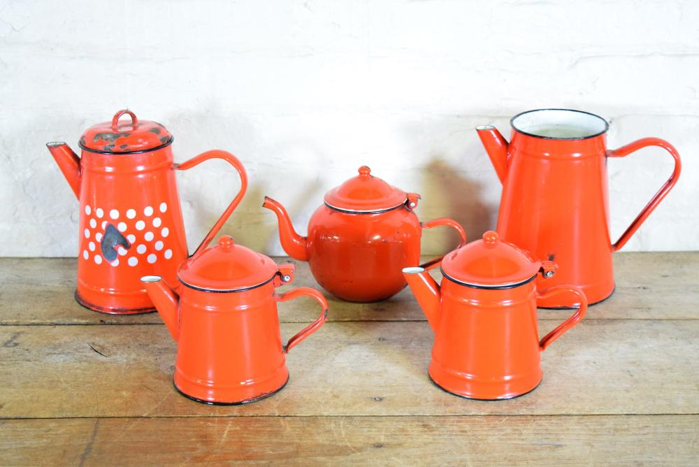 Red Enamelware