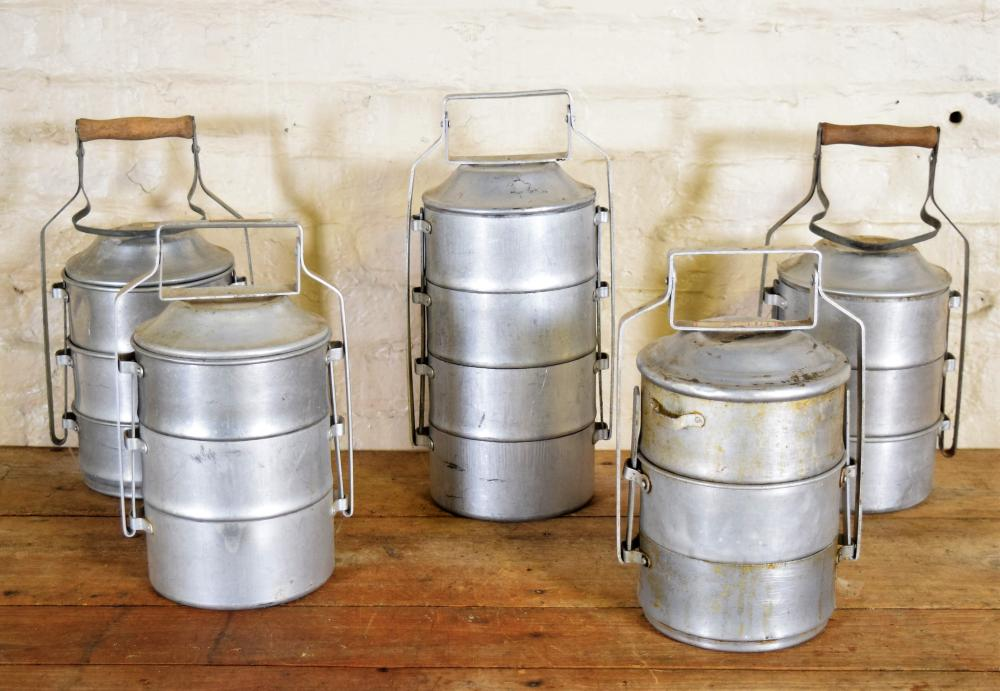 Stacking Metal Lunchboxes