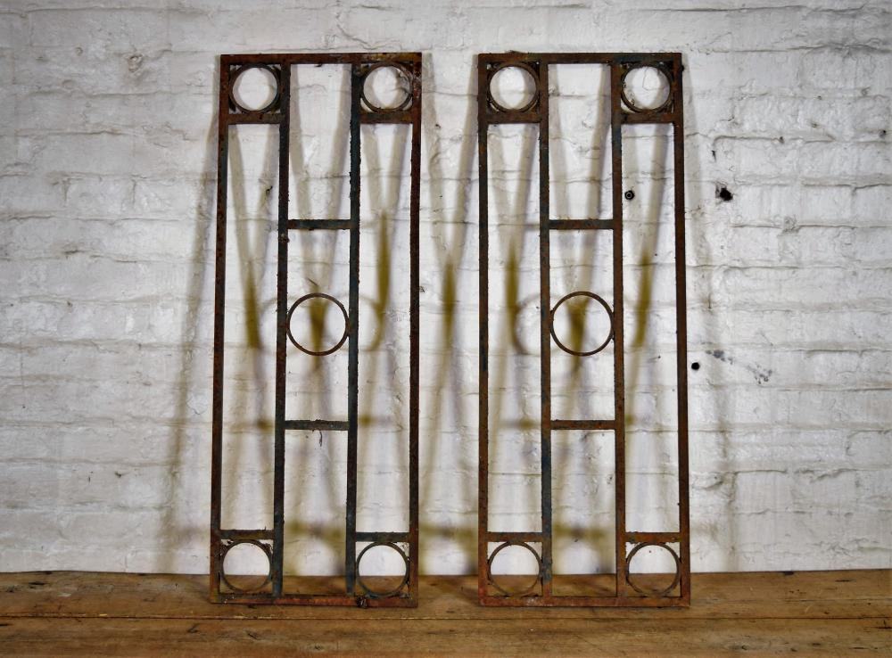 French Cast Iron Window Gaurds