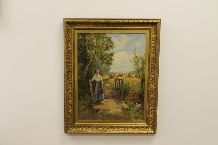 Haystacks by Ernest Walbourn