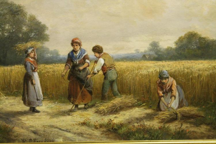 Harvest by Pieter Koekkoek