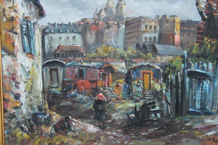 Porte des Clignacourt by Raymond Besse