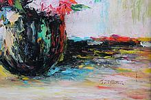 Colorful Floral Arrangement by A. Baltatu