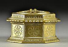 An Islamic Bronze Ink Well
