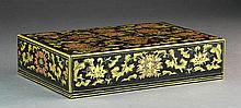 A Chinese Gilt & Lacquered Box