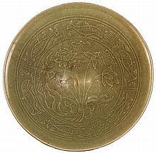 Chinese Yaozhou Conical Shaped Bowl