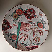 Chinese Porcelain GuangCai Plate