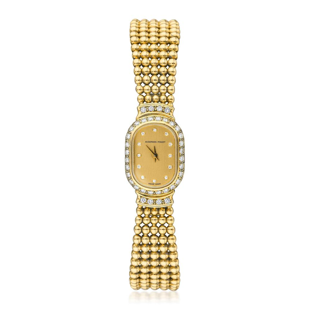 Audemars Piguet Ladies Bracelet Watch in 18K Gold