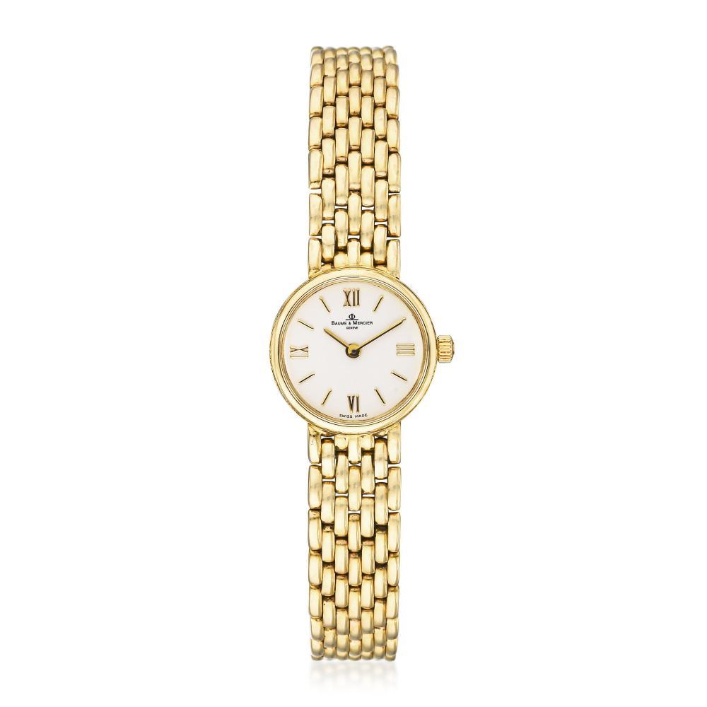 Baume & Mercier Ladies Watch in 14K Gold