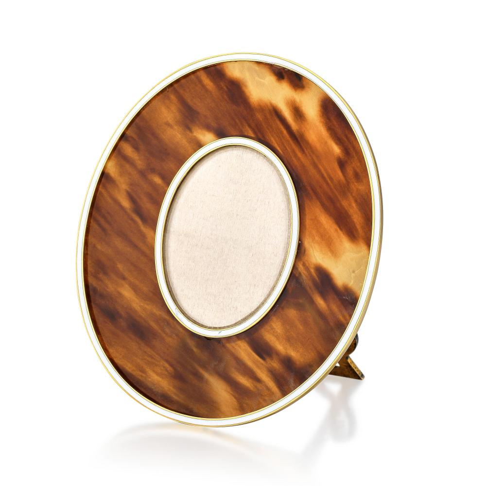Cartier Tortoise Shell Picture Frame