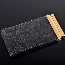 Cartier gold notebook