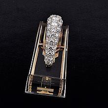 Oscar Heyman diamond crystal clip
