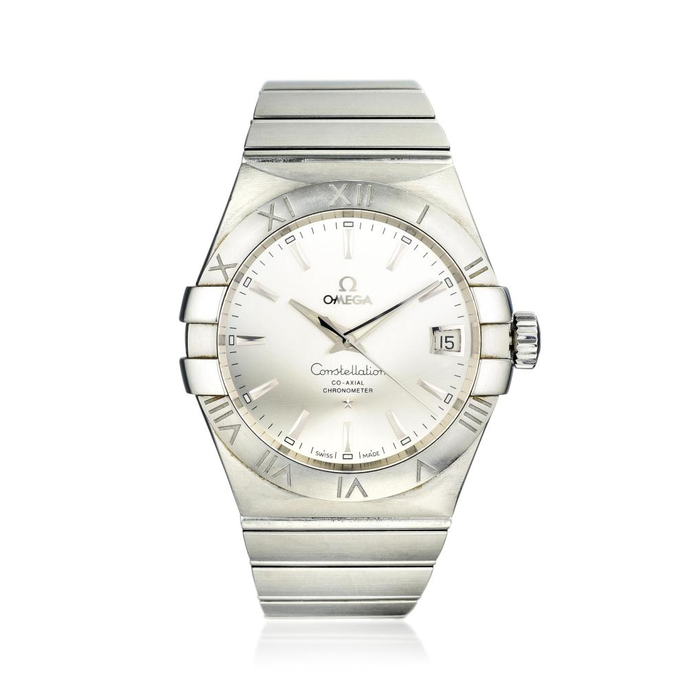 Omega Constellation Co-Axial Chronometer in Steel
