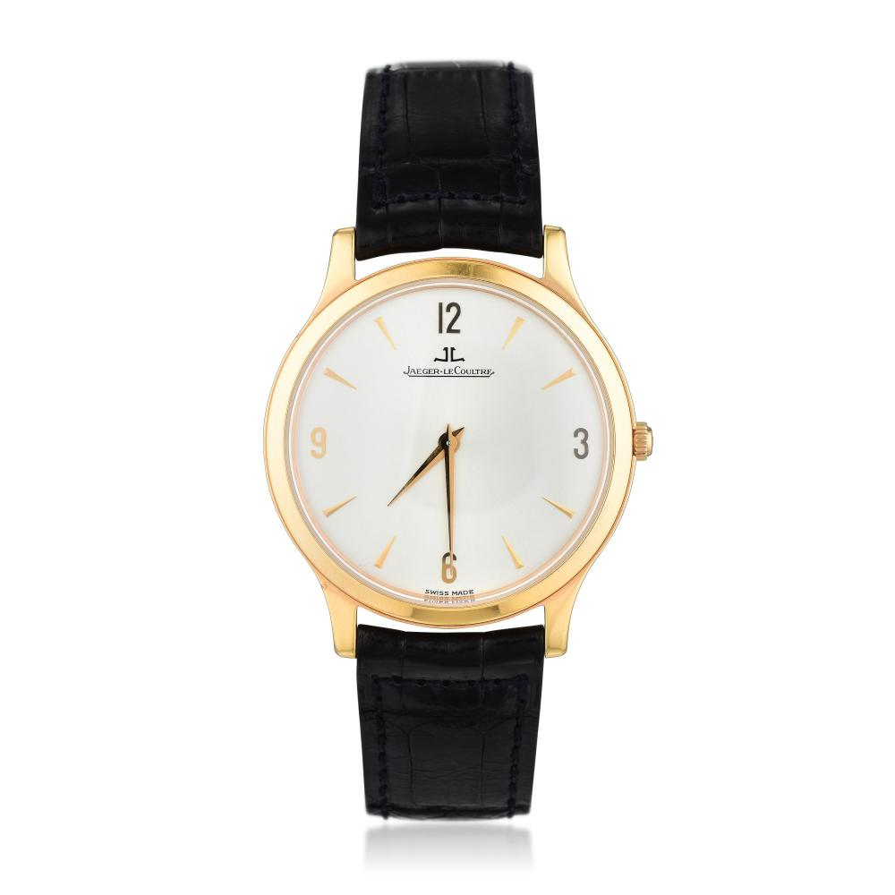 Jaeger LeCoultre Master Ultra-Thin in 18K Pink Gold