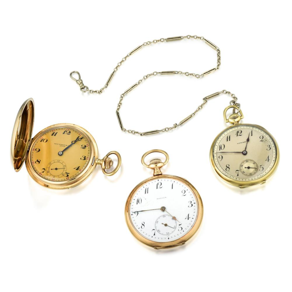 A Group of Pocket Watches