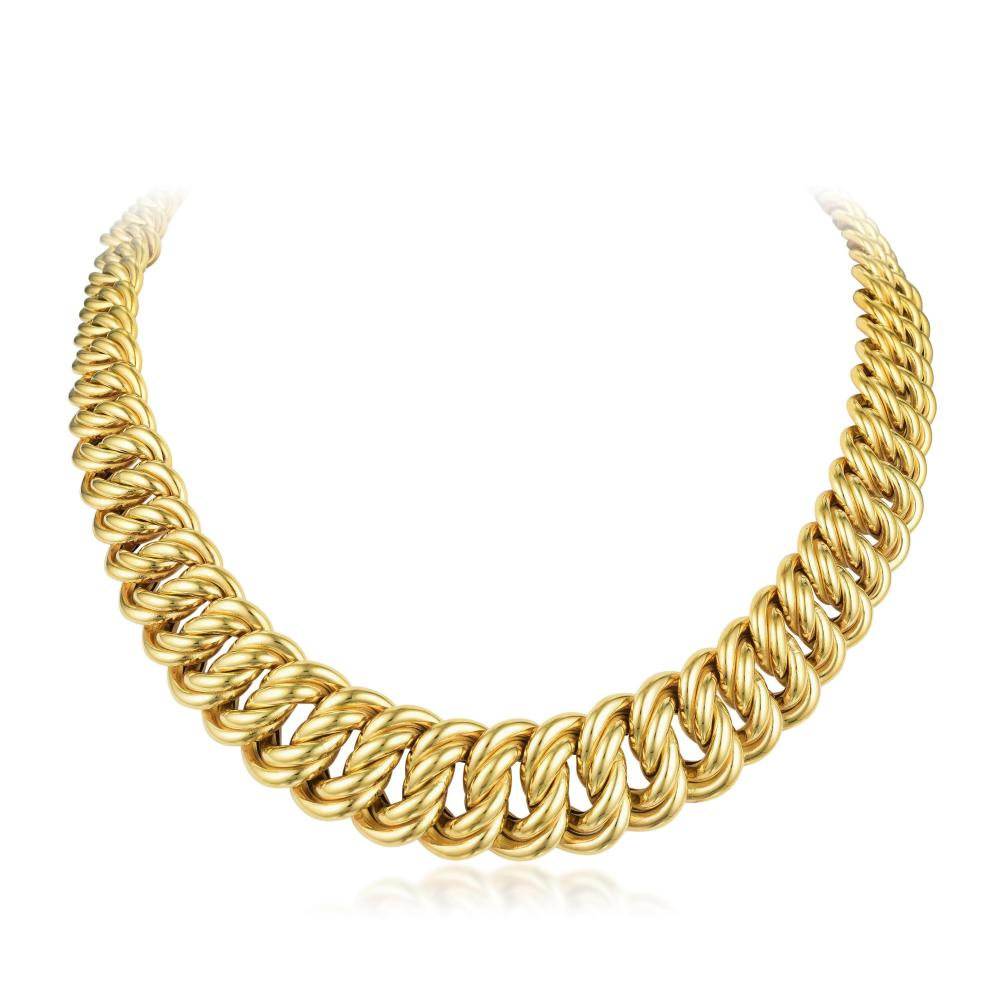 A Gold Chain Necklace, Italian