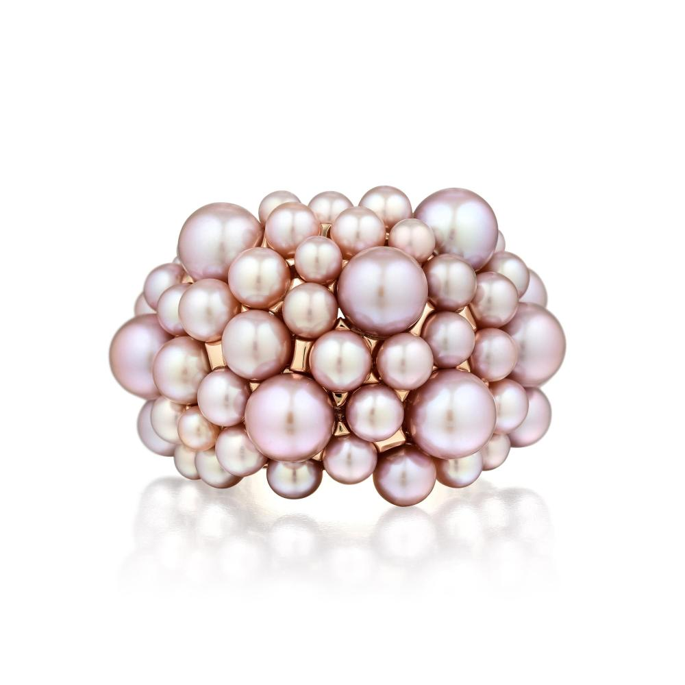 Mimi Milano Violet Cultured Pearl Ring