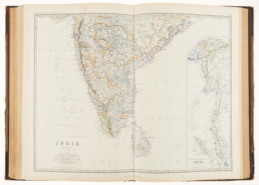 Atlases.- World.- Johnston (Alexander Keith) The Royal Atlas of Modern Geography, 1861.