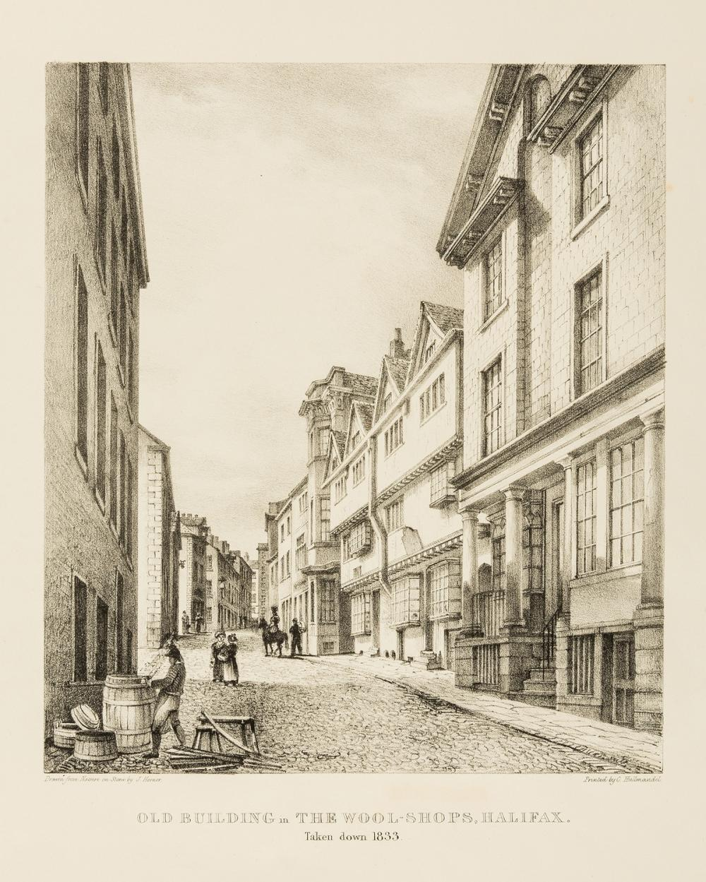 England.- Horner (John) Buildings in the Town and Parish of Halifax, Halifax, 1835; and others similar (5)