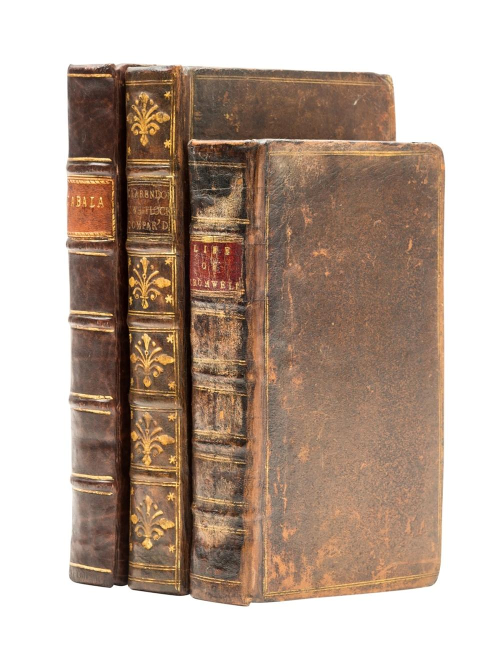 English Civil War.- Cabala, Mysteries of State, in Letters of the great Ministers of K. James and K. Charles ..., for M.M.G. Bedell and T. Collins, 1654; and 2 others similar (3)