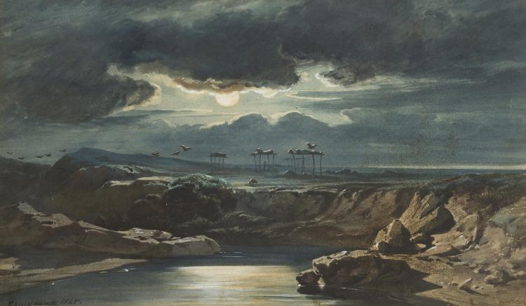Africa nousveaux edouard auguste 1811 1867 plaine d 39 acc for Auguste chabaud cote