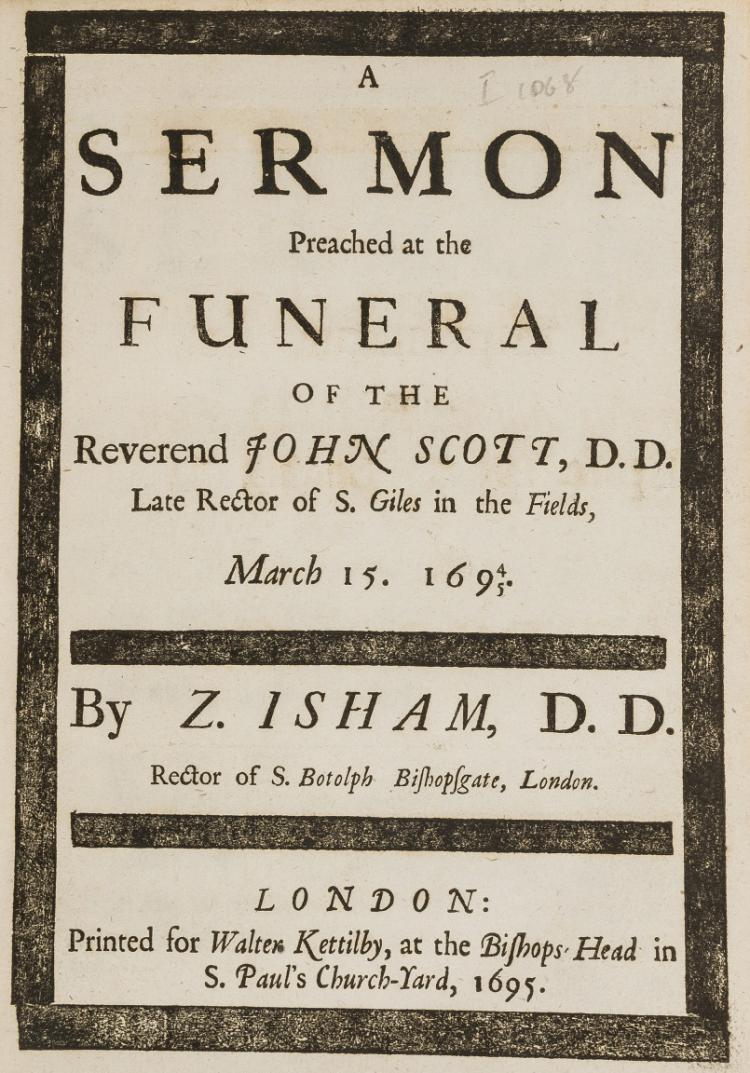 Sharp (John) A Sermon Preached Before the Queen at Whitehall
