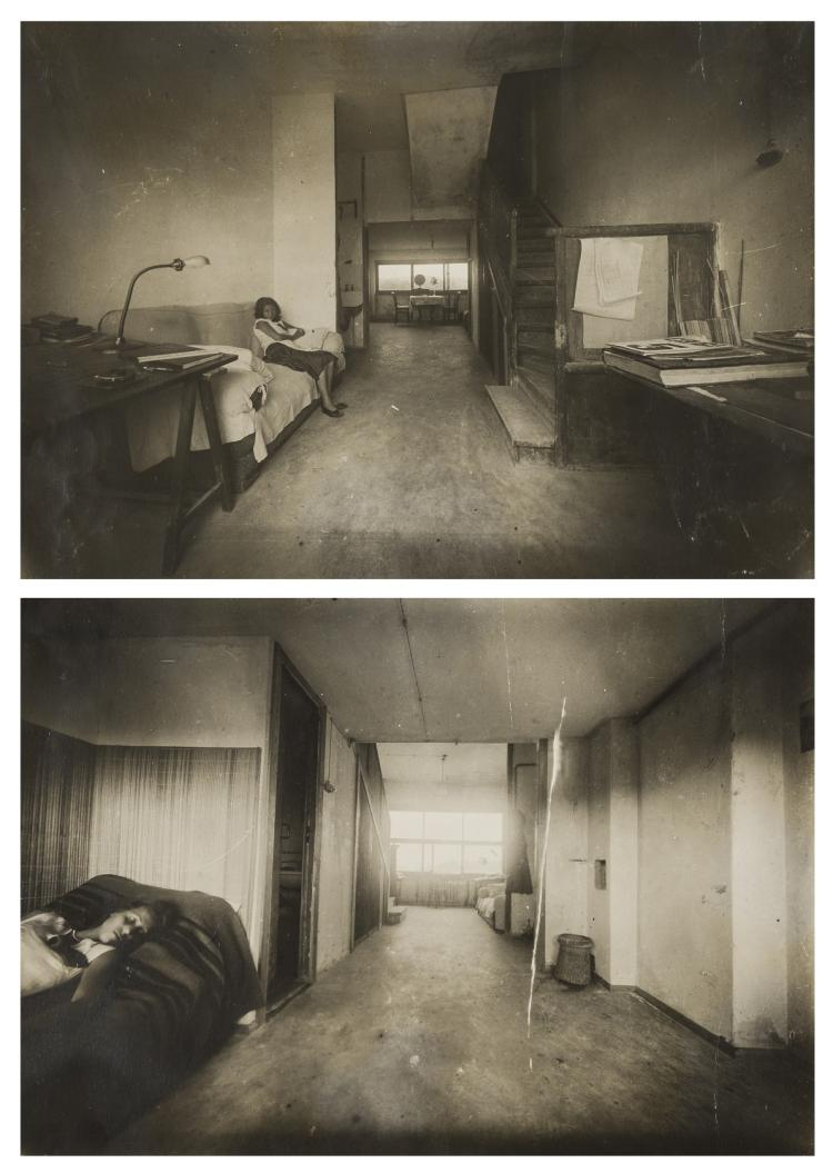 NO RESERVE Vladimir Vladimirov (b.1920) Vladimirov's Apartment in the Building on Gogol Boulevard, Moscow, 1931