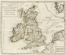 Britain.- Salmon (Thomas) Los Stato Presente di Tutti i Paesi, e Popoli del Mondo Naturale ... volume XII. D'Inghilterra, Venice, Giambatista Albrizzi, 1743.