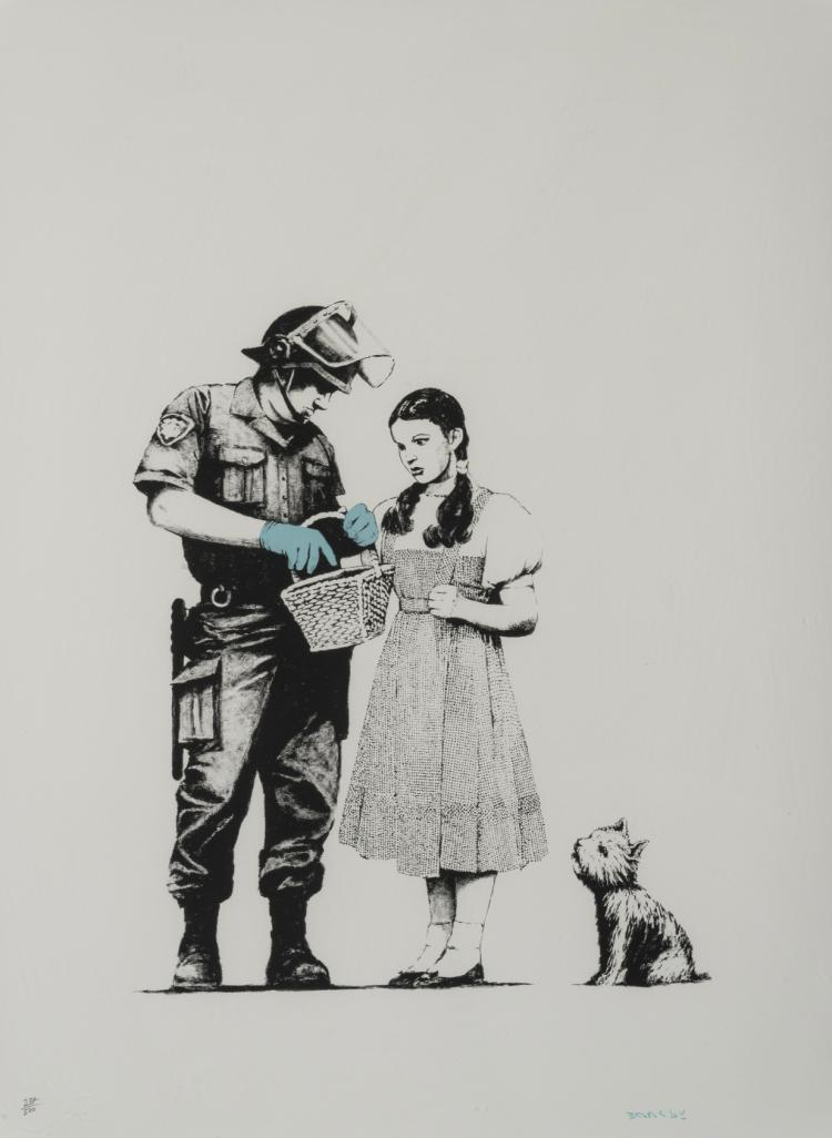 δ Banksy (b.1974) Stop and Search
