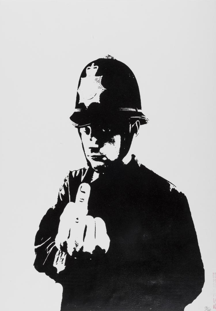 δ Banksy (b.1974) Rude Copper