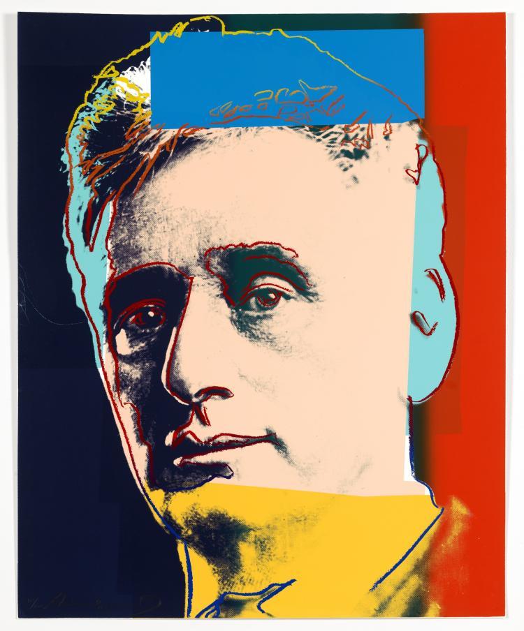 Andy Warhol (1928-1987) Louis Brandeis (Feldman and Schellmann 230)
