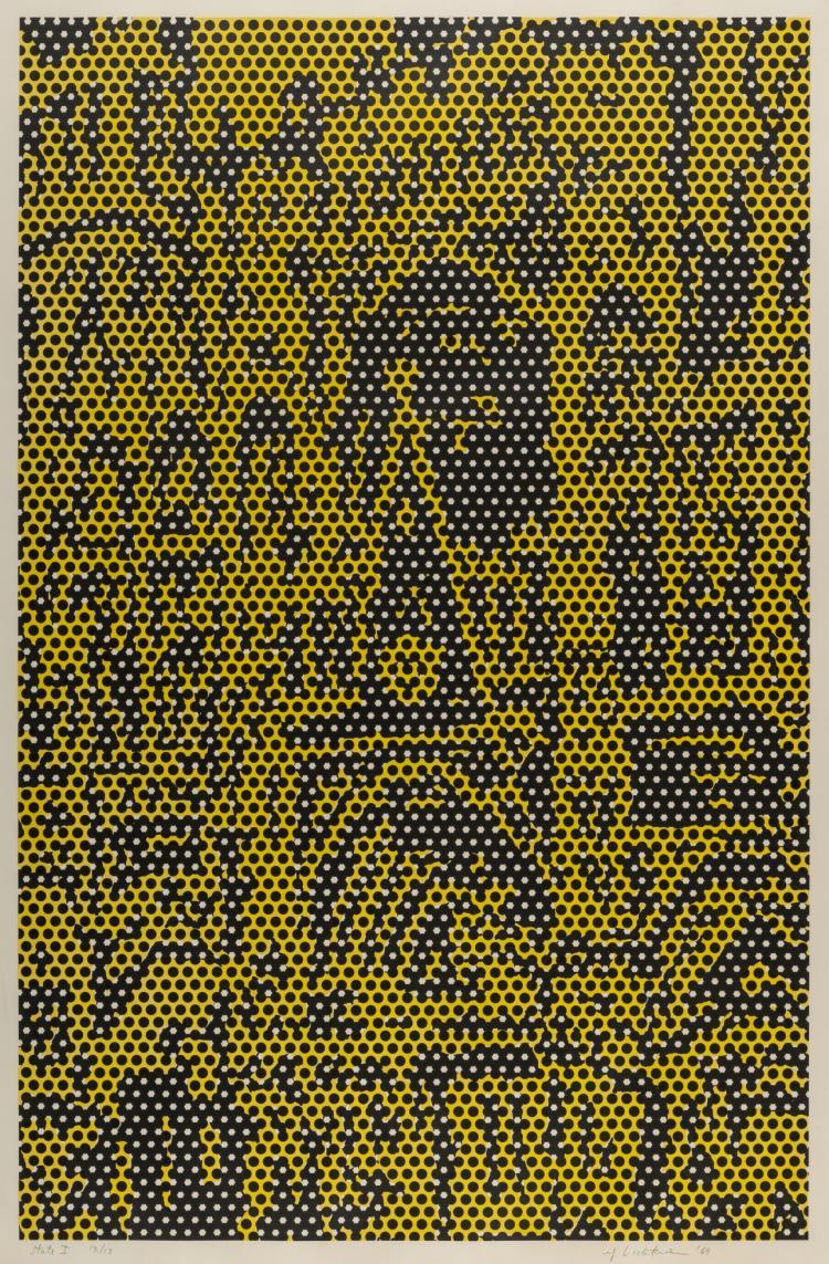 Roy Lichtenstein (1923-1997) Cathedral #5 (Corlett 79)